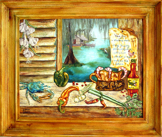 framed prints for kitchens kitchen remodeling louisiana southern art paintings new orleans