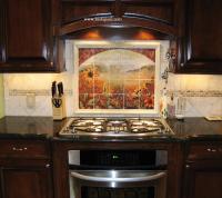 Sunflower Kitchen Decor Tile Murals