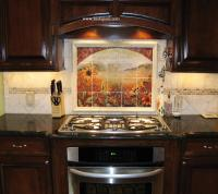 Sunflower Kitchen Decor Tile Murals - Western Backsplash ...