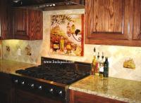 Tuscan Backsplash Tile Murals - Tuscany design Kitchen Tiles