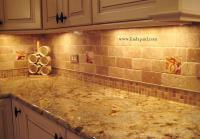 The Vineyard Tile Murals - Tuscan Wine Tiles - Kitchen ...