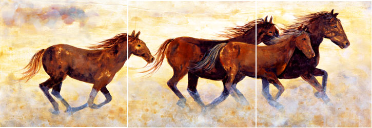 Horse Murals Kitchen Tile Backsplashes Of Horses Horses