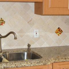 Backsplash Tiles Kitchen Stone Mexican Home Decor - Peppers Murals