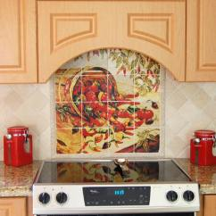 Mexican Backsplash Tiles Kitchen Rustic Island Home Decor - Peppers Murals