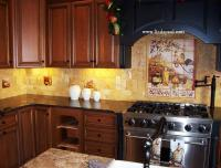 Tuscan Backsplash Tile Murals - Tuscany design Kitchen Tiles