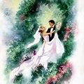 Linda picken art studio wedding watercolor jpg
