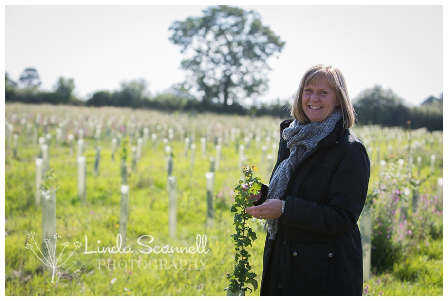 What to do with your old Christmas cards { commercial photography for the Woodland Trust }
