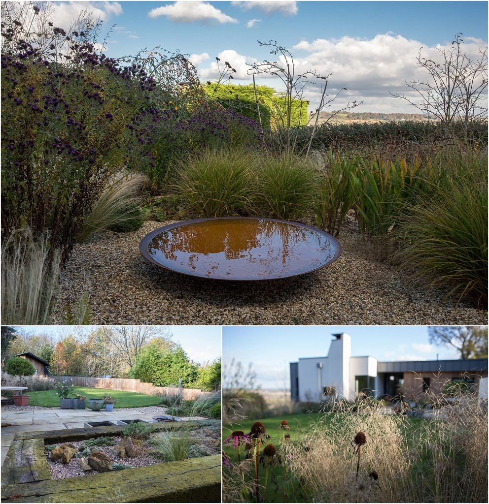 Contemporary garden with a Warwickshire view | Linda Scannell