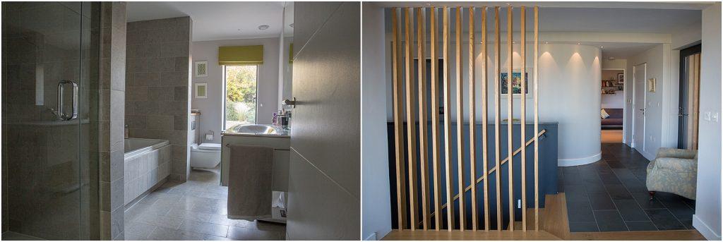 Property photography - bathroom and hallway | Linda Scannell