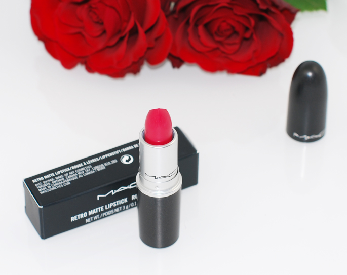 ALL FIRED UP MAC lipstick review