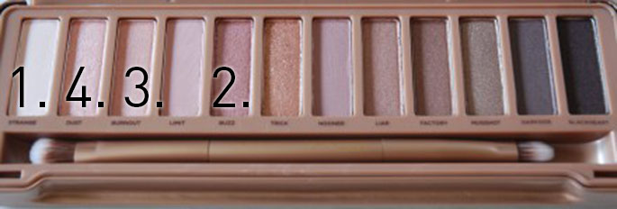 urban decay naked 3 palette look