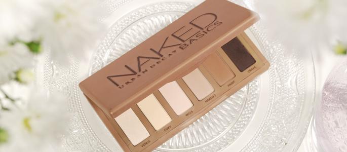 Beginnen met opmaken make-up beauty geheim basis basics begin bij een goede basis naked basics palette urban decay