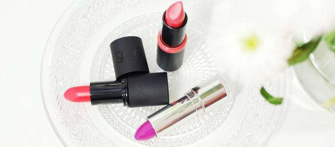 Beginnen met opmaken make-up Essence Catrice Sleek lipstick