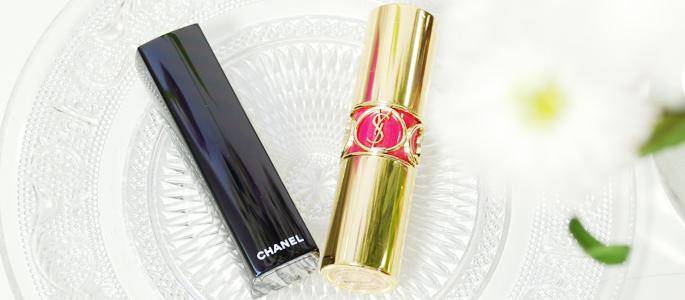Beginnen met opmaken make-up high-end lipstick YSL CHANEL