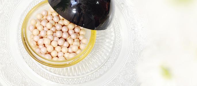 Beginnen met opmaken make-up highlighter The Body SHop parels pearls
