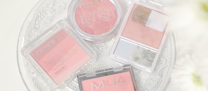 Beginnen met opmaken make-up budget blush e.l.f. catrice MUA