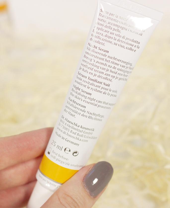 Dr. Huaschka nacht serum kracht van de nacht vitaliserende nachtverzorging verzorging huid review lifestyle by linda