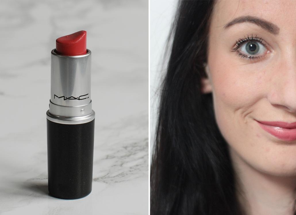 MAC Cosmetics Cremesheen Fan Fare full face lifestyle by linda