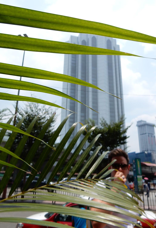 Kuala lumpur building city walk