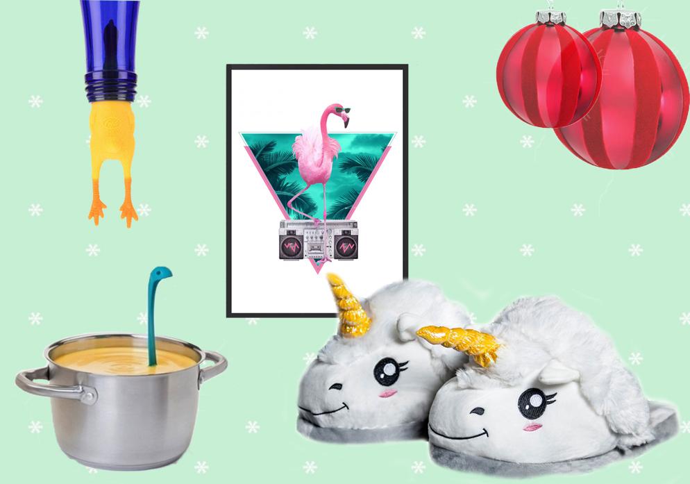 origineel originele cadeaus kerst verjaardag radbag unicorn