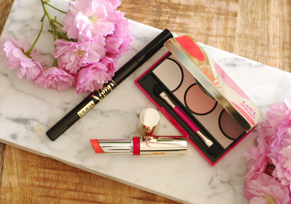 Dot shock eyeshadow palette Pupa milano vamp! stylo liner miss pupa review lifestyle by linda