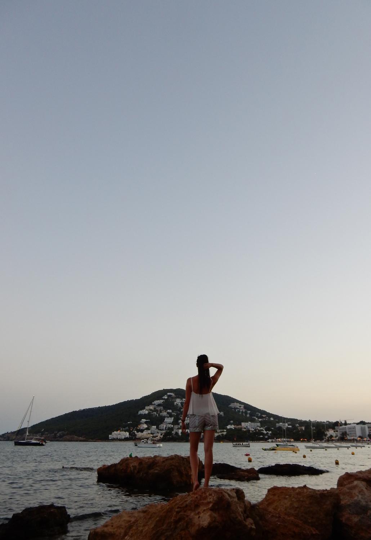 Santa Eularia Ibiza Travel blog Santa Eulària des Riu sunset