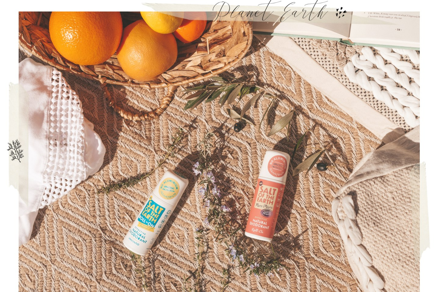 Salt of the Earth Roll-on deodorant Linda's wholesome life
