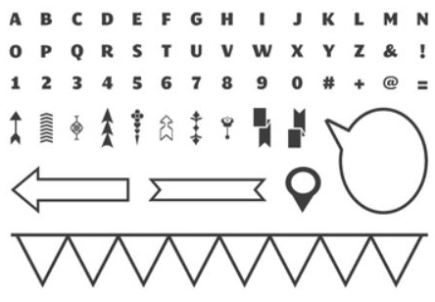 Designer Typeset Photopolymer Stamp Set Item # 132956  $13.95 {Recommend clear blocks A, B, G, F, and I. Sold separately}