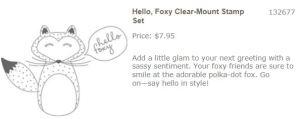 SS-Hello Foxy