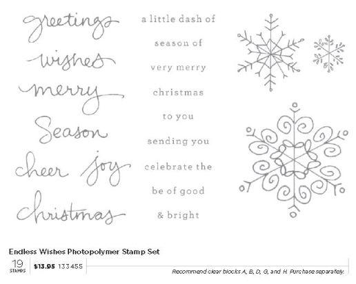 Christmas Photopolymer Stamp Set 2