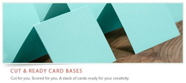 Cut & Ready Card Bases