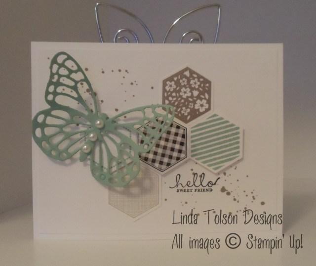 Swap Six-Sided Butterflies-Mint Macaron