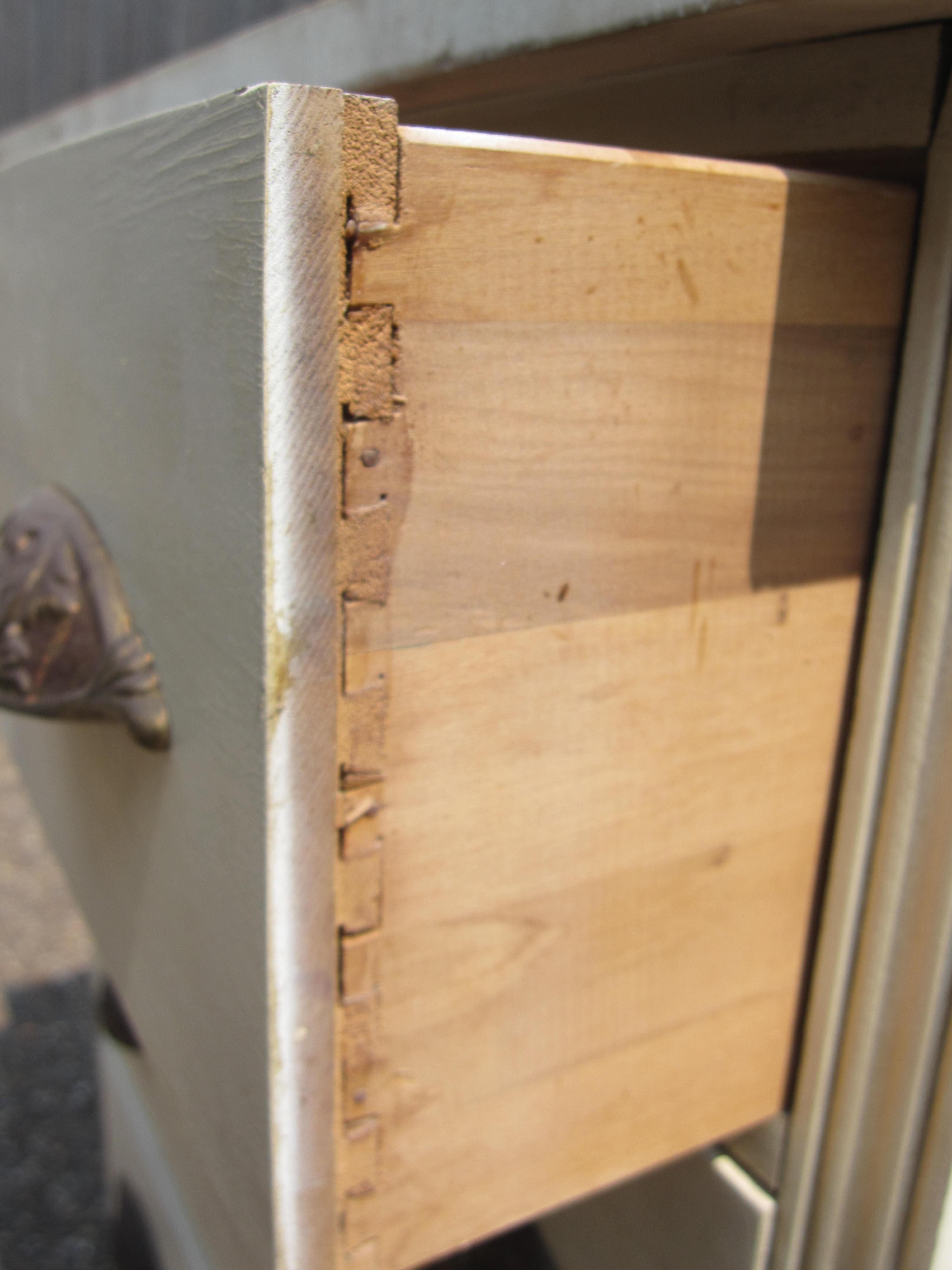 Farmhouse White Dresser Houston Furniture Refinishing