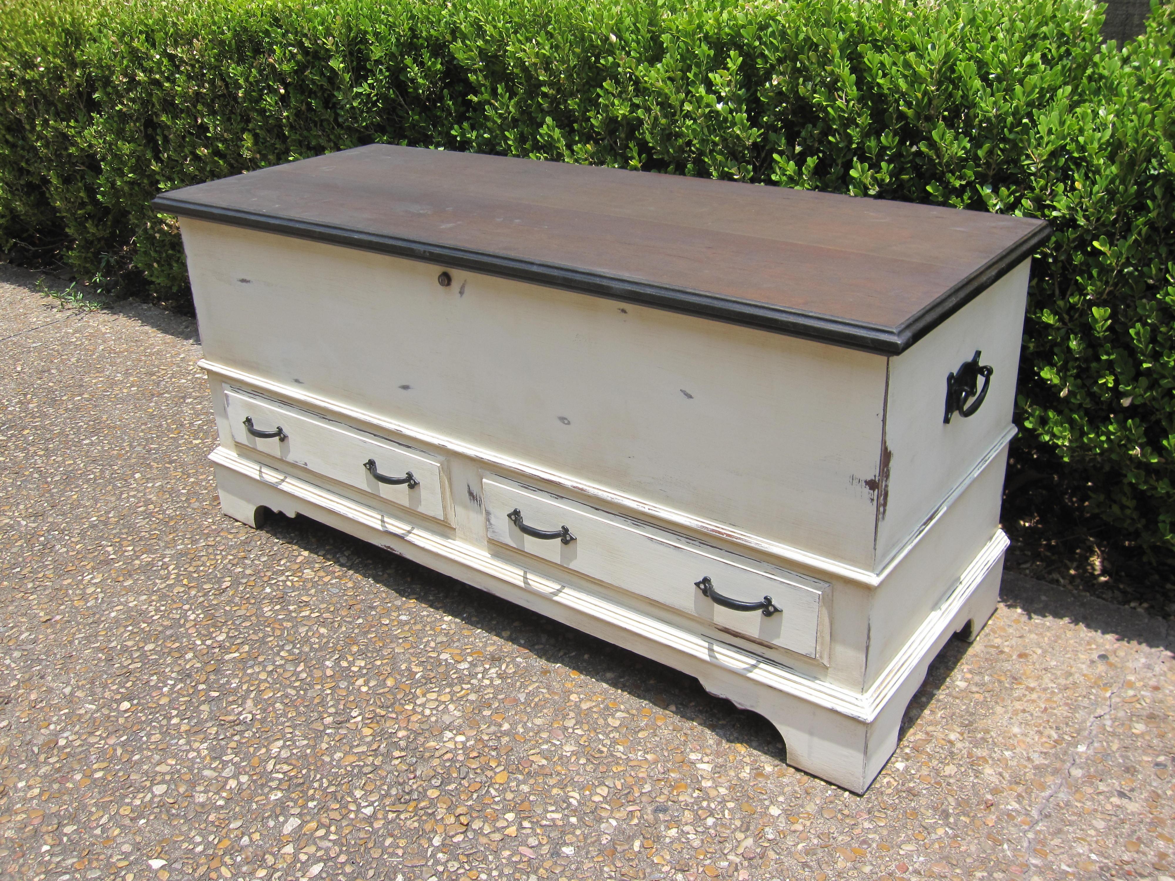 ethan allen dining room chairs massage chair walmart refinished lane cedar chest | houston furniture refinishing: lindauer designs