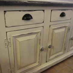 Kitchen Cabinet Refinishing Cost Antique Brass Faucet Ugly Buffet/hutch To A Storage Swan   Houston ...