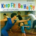 """Album cover: Bonnie Pruden """"Keep fit, Be Happy"""""""