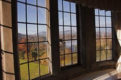 Autumn window view, beat winter doldrums