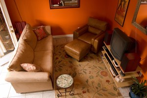 Furniture Arranging Before and Afters: Small TV Room