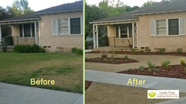 easy front yard maintenance