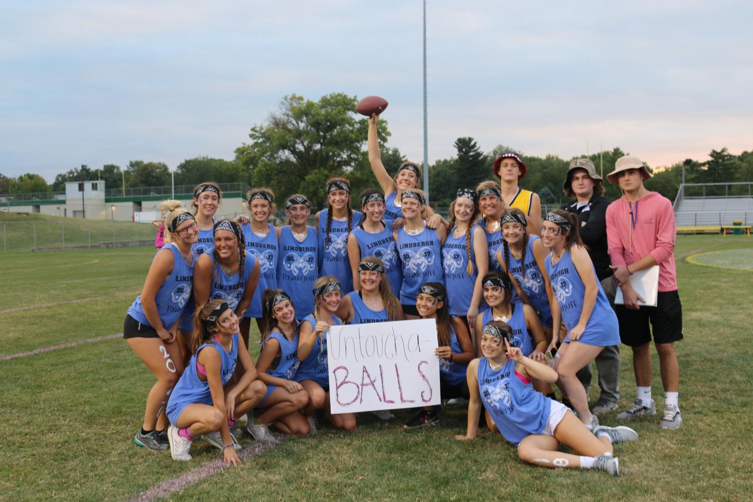 Powderpuff champions, senior team 'UntouchaBalls'