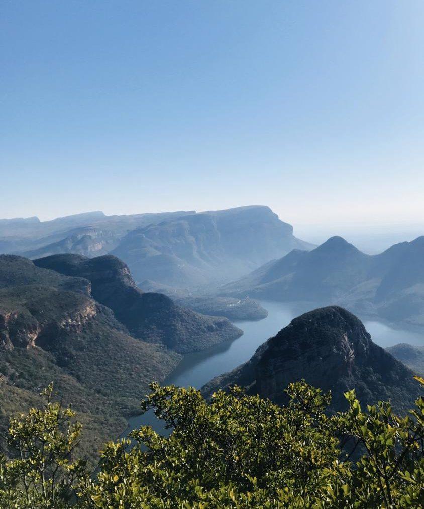 Beautiful African mountains.