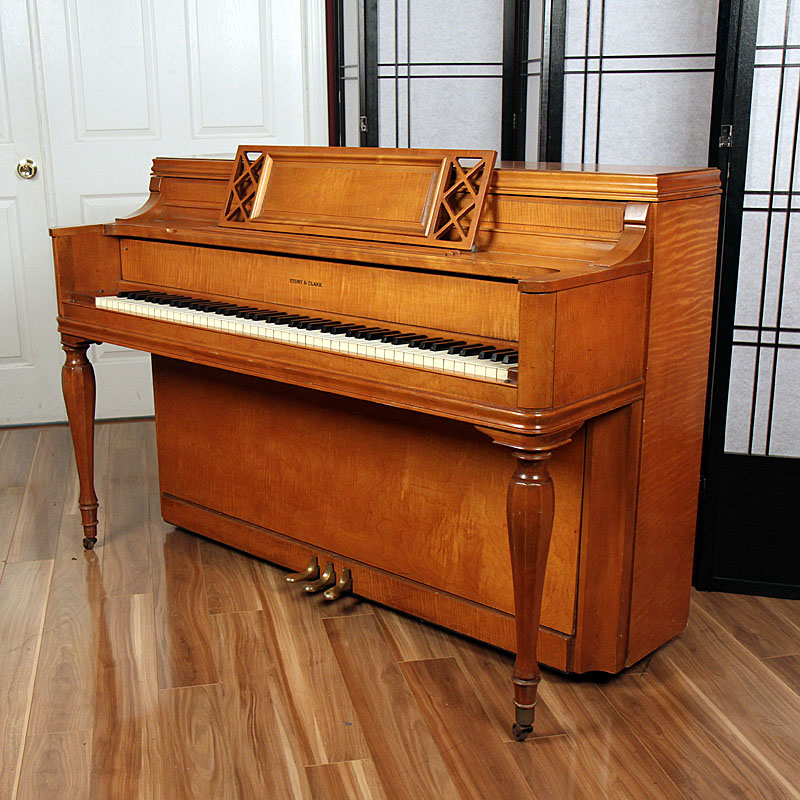 1954 Story Amp Clark Console Lindeblad Piano Restoration