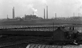 1909, Seaton Carew Ironworks i England