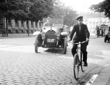 1926, Västra Hamngatan i Göteborg