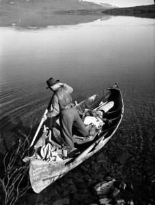 1946, fiskevännen Axel Nilsson Vinka i Lapplandsfjällen