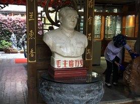 En snäll Mao på hotellet i Dali