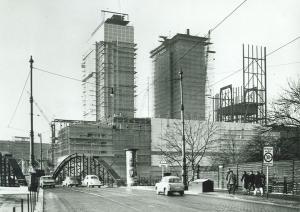 Heizkraftwerk im Bau 1961
