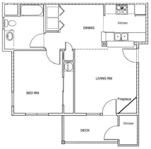 1 Bed / 1 Bath / Rent From: $1220