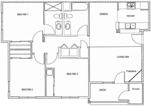 3 Bed / 2 Bath / 1,213 sq ft / Rent From: $1650