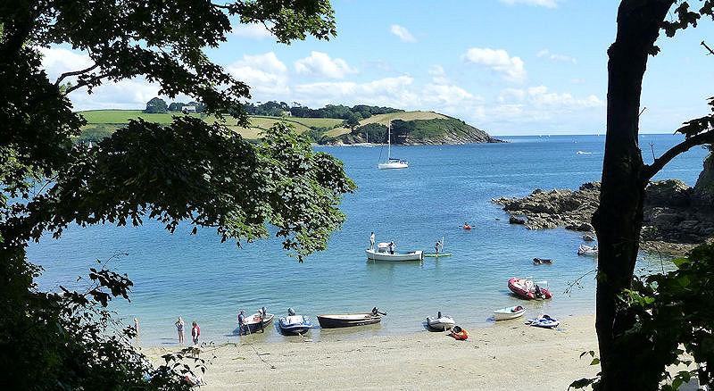 Helford River beaches Cornwall